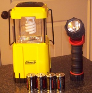 When preparing for an emergency or disaster, you need to consider how you will provide light within your home when the power goes out. Here are a few options.